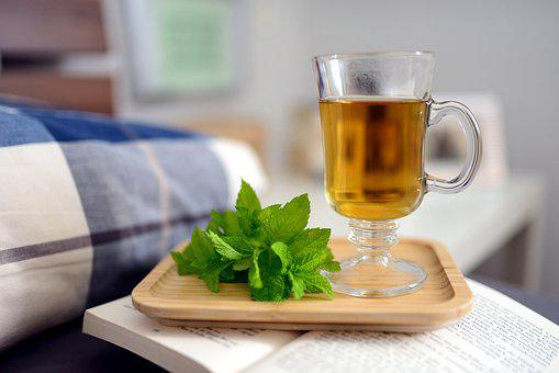 Peppermint Tea, Peppermint, Mint, Tee, Tea Glass