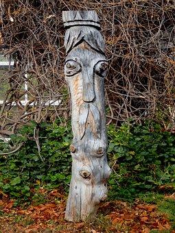 Statue, Art, Wood, Sculpture, Figure