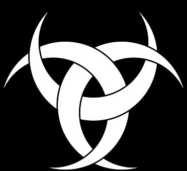 Tattoo, Three, Moon, Crescents, Symbol, Celtic