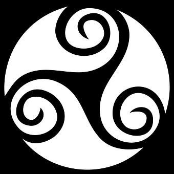Celtic, Tribal, Knot, Circle, Swirl, Tattoo, Ancient
