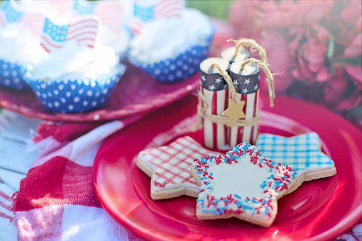 Fourth Of July, 4th Of July, Patriotic, Picnic