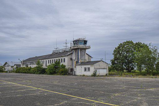 Lost Places, Tower, Airport, Aviation