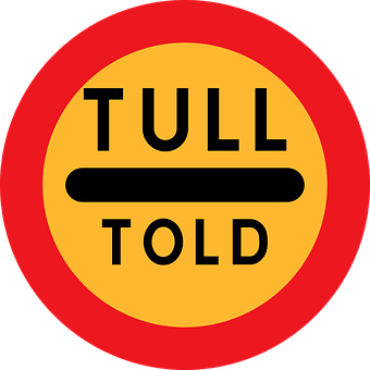 Road, Sign, Street, Tull, Told, Warning