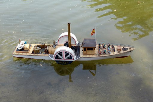 Boat, Steam, Toy, Old, Transport