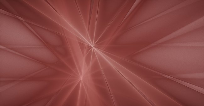 Texture, Background, Fractal, Rays, Rose, Beige