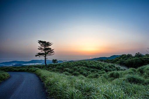 Landscape, Sunrise, Plateau, Sea Of Clouds
