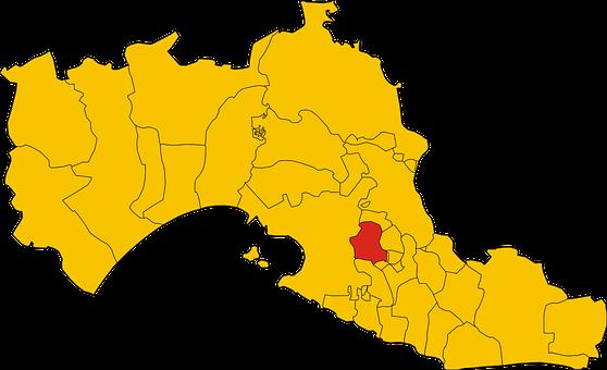 Map, Italy, San, Region, Province