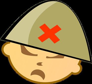 Soldier, Chinese, Vietnam, Mean, Face, War, Fight