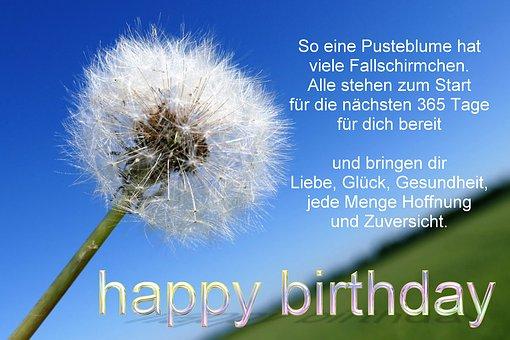 Birthday, Birthday Greeting, Birthday Card