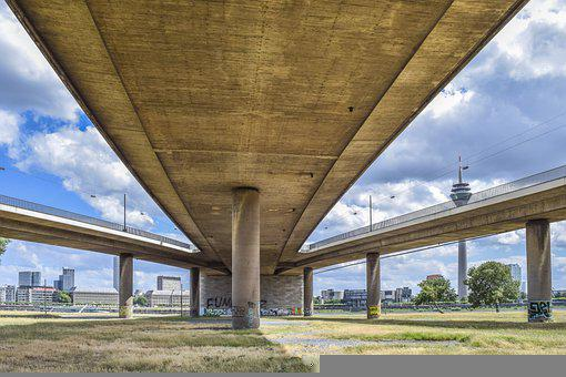 Architecture, Bridge, Concrete