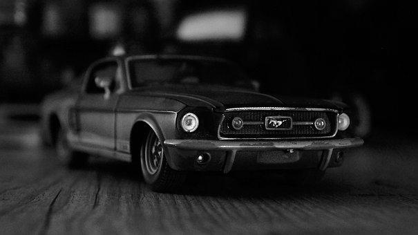 Miniatura Mustang, Coleção De Carrinhos, Carros, Carro