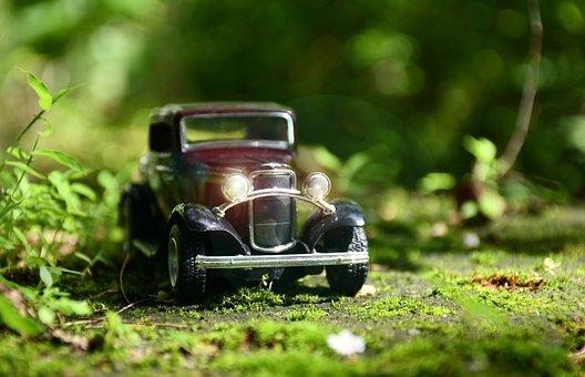Car, Vintage, Toy, Classic, Automobile, Luxury