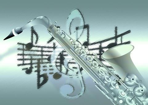Music, Saxophone, Treble Clef, Sound, Concert, Musician
