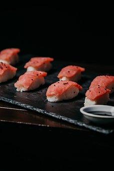 Sushi, Food, Asia, Eat, Seafood
