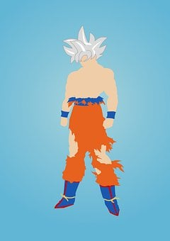 Goku, Ultra Instinct, Ultra, Instinct, Martial, Fight