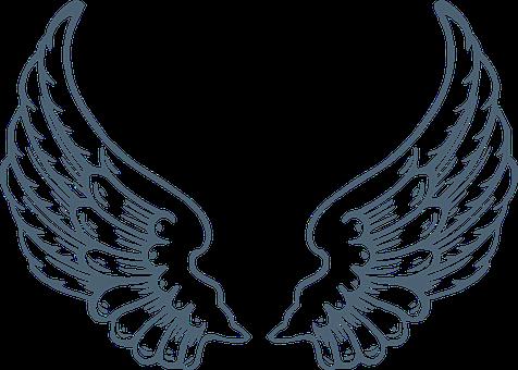 Wings, Angel, Huge, Holy, Safe