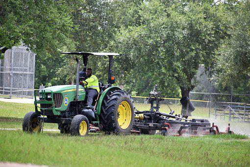 Lawncare, Tractor, Landscaping, Mowing