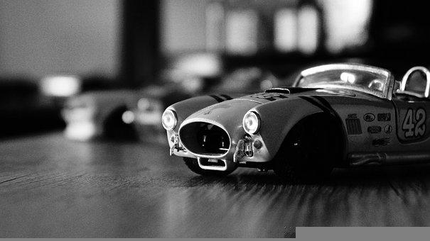 Shelby Cobra, Carro, Carrinhos, Miniaturas, Mustang