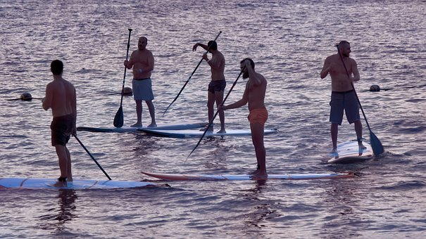 Social Gathering, Paddle Board