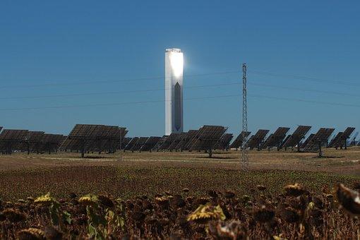 Solar Energy, Solar Tower, Sun