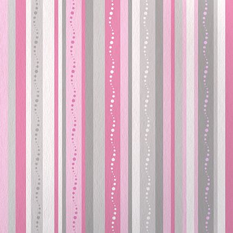 Stripes, Pink, Grey, Scrapbooking
