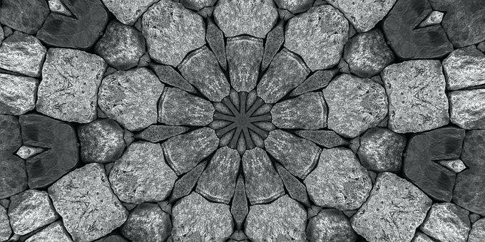 Mandala, Rosette, Abstract, Virtual