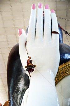 Buddha, Buddhaputzer, Hand, Cleaner