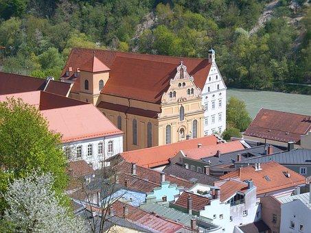 Ancient Times, Burghausen, Castle, Historical City