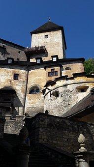 Castle, Orava, Slovakia, Tourism, Tower, Courtyard