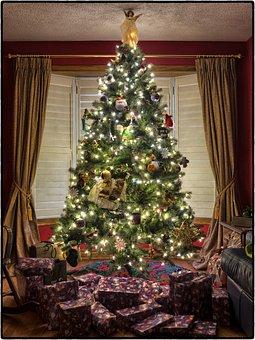 Christmas, Tree, Christmas Tree, Decoration, Holiday