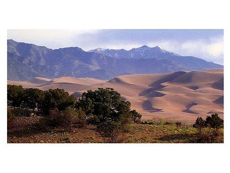 Colorado, Great Dunes National Park, Sand Dunes