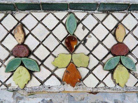 Mosaic, Tiles, Colorful, Pattern, Ceramic, Tile, Wall