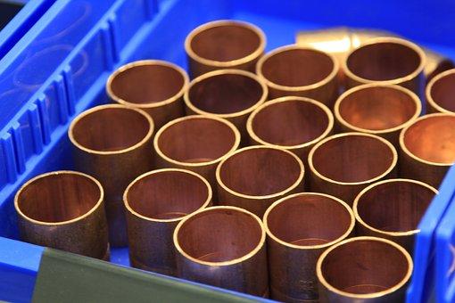 Copper Coupler, Copper Pipe, Coupler, Plumber, Copper