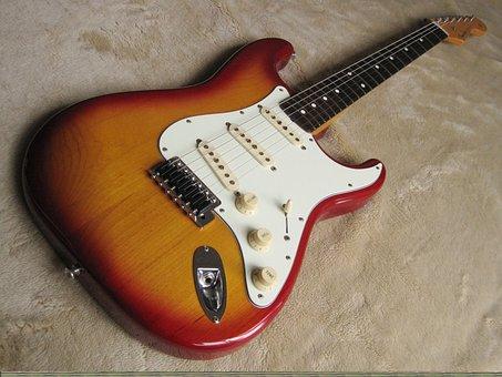 Guitar, Fender, Strat, Stratocaster, Musician, Play