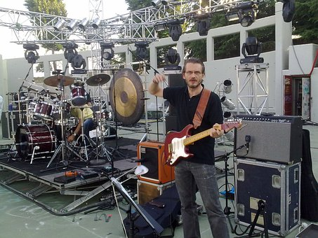 Guitar Player, Guitar, Sound Check, Studio, Music, Band