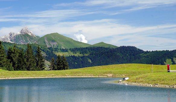France, Alps, Mountain, Hiking, Lake, Solitude, Nature
