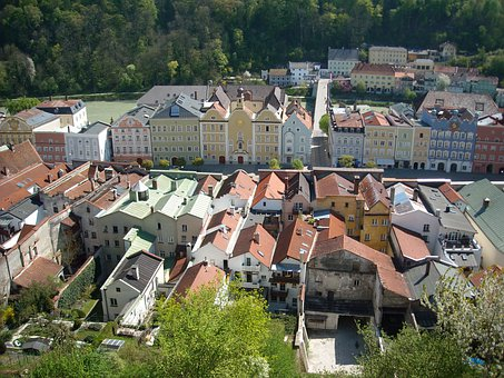 Burghausen, Upper Bavaria, Middle Ages, Historical City