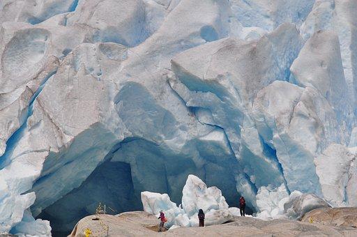 Glacier, Norway, Ice, Snow, Cold, Glacier Tongue