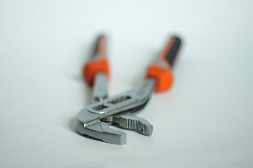 Pincers, Nippers, Pliers, Caliper, Plumber, Key, Tool