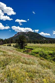 Colorado, Rocky Mountains, National Park, Landscape