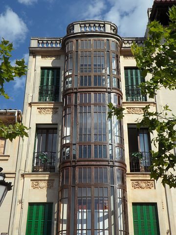 Llucmajor, Art Nouveau, Home, Building, Facade