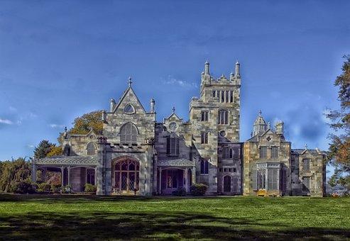 Lyndhurst, New York, Mansion, House, Home, Landmark