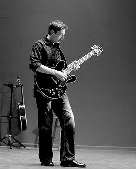 Guitar Player, Guitar, Artist, Music, Player