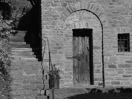 Heimbach, North Eifel, Near Castle, Stone Stairway