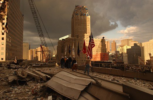 Ground Zero, World Trade Center, New York, Ny, Nyc
