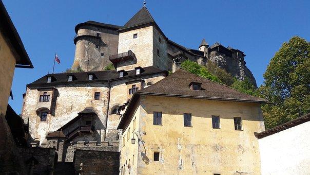 Orava, Castle, Orava Castle, Slovakia, Trip, Tourism