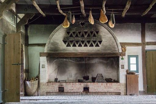 Fireplace, Stone Oven, Oven, Wood Burning Stove