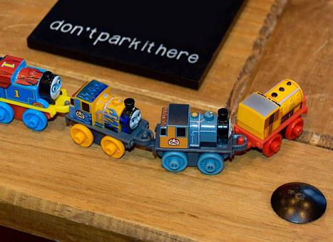 Toy, Kids Toy, Toy Train, Train, Fun, Plastic, Colorful