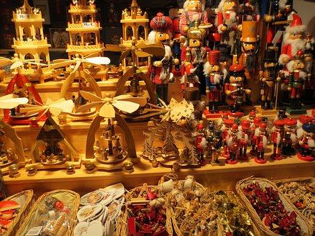 Christmas, Berlin, Gifts, Procurement, Play, Wood