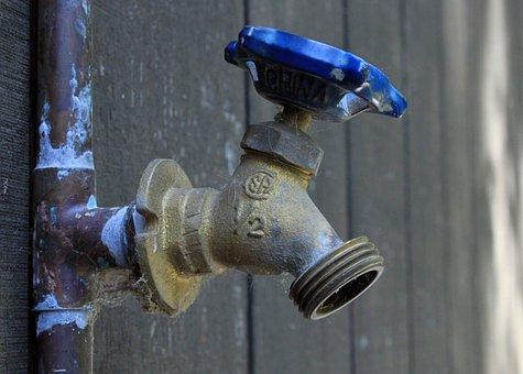 Plumbing, Plumber, Old, Faucet, Water, Pipe, Solder